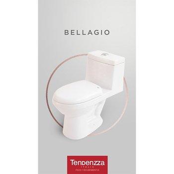 Sanitario una Pieza Bellagio marca Tendenzza Blanco