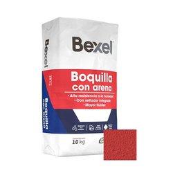 Boquilla con Arena Bexel Rojo 10 kg