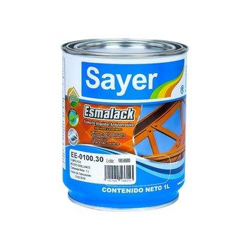 Esmalte Anticorrosivo Sayerlack Negro 1 l