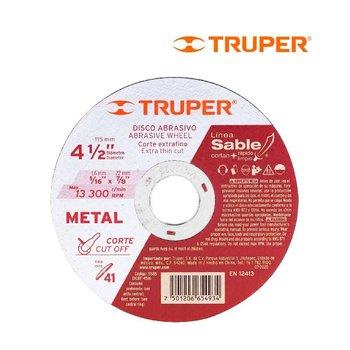 Disco de Corte de Metal 4 1/2 Truper