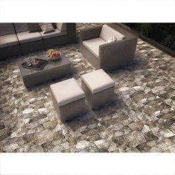 Piso Menhir Daltile 34 x 50 cm Negro