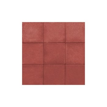 Adoquín Plaza Mextile 30 x 30 x 6 cm Rojo Rubí