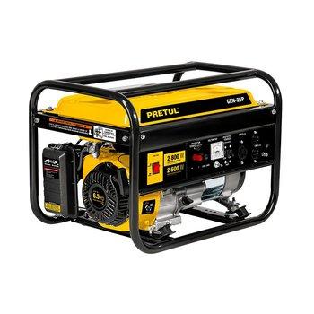 Generador Eléctrico a Gasolina 2500 W Pretul