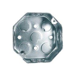 Caja Octagonal Galvanizada Reforzada 4 x 4 pulg