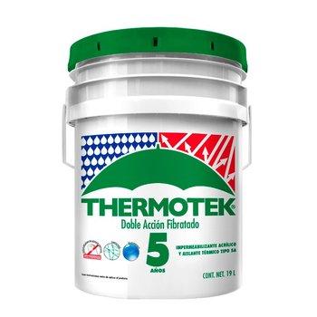 Impermeabilizante Thermotek Doble Acción Fibratado 5 Años 19 L