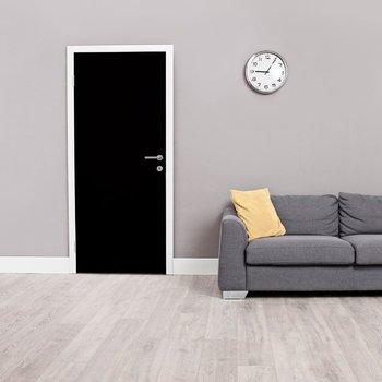 Puerta Tambor 65 x 2.13 m Chocolate