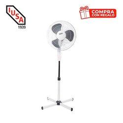 Ventilador pedestal 16 pulg 40.64 cms Gratis 10 cubrebocas