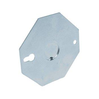Tapa Octagonal Galvanizada Reforzada 4 x 4 pulg