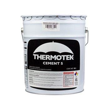 Cemento Plástico Thermotek Asfáltico Negro 19 l