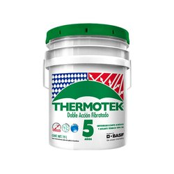 Impermeabilizante Acrílico Thermotek Fibratado Rojo 5 A 19 l