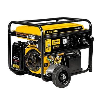 Generador Eléctrico a Gasolina 5500 W Pretul