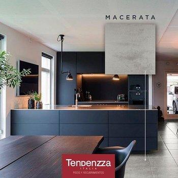 Piso Macerata Tendenzza 60 x 60 cm Rectificado Gris