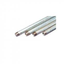 Tubo Galvanizado 1½ pulg x 6.40 m Ced 40
