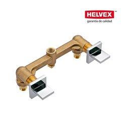 Mezcladora Empotrar Regadera Helvex Vertika MR-1002