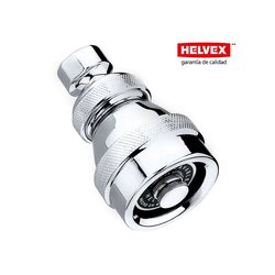 Regadera Helvex Limpieza Automática sin Válvula Cromo AC-50