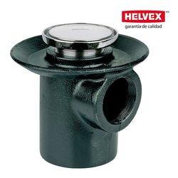 Coladera boca Helvex desagüe Redondo 24HL