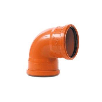 Codo PVC Alcantarillado 90 x 6 160 mm