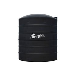 Tanque Agua Rotoplas Estándar Negro 2500 l Reforzado