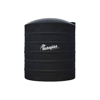 Tanque Agua Rotoplas Estándar Negro 25000 l Reforzado