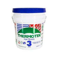 Impermeabilizante Acrílico Thermotek Fibratado Blanco 5 A 19 Lt