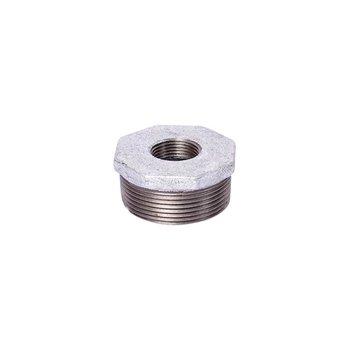 Reducción Galvanizada Bushing 38 x 19 mm 1½ x ¾