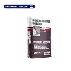 Adhesivo Grandes Formatos Uniblock 20 kg Blanco