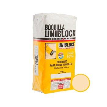 Boquilla con Arena marca Uniblock 10 kg Beige
