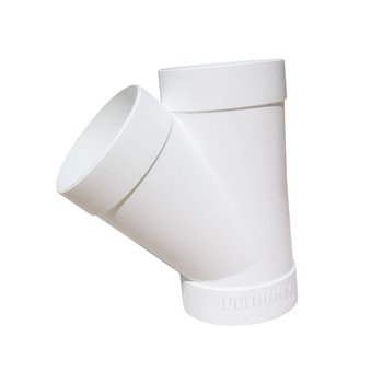 Yee PVC Sanitario 2 x 2 50 x 50 mm