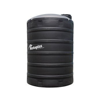 Tanque Agua Rotoplas Estándar Negro 10000 l