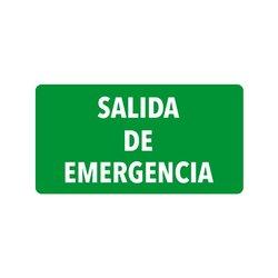 Señalamiento Salida Emergencia
