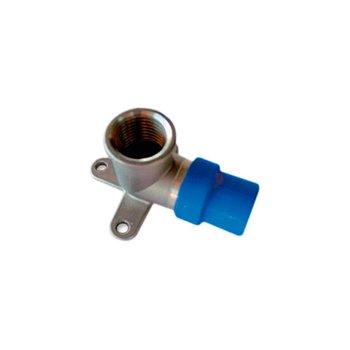 Conector CPVC Azul Rosca Interior Bronce 13 mm Flowguard Gold