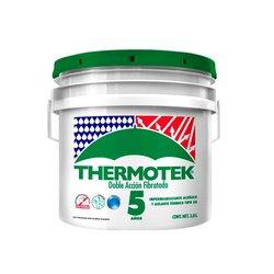 Impermeabilizante Acrílico Fibratado Thermotek 5 años Fibermax