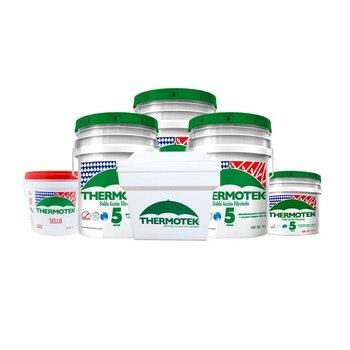 Paquete Thermotek 5 años 3 Cub+1 Hielera+1gl Sello+1 gl Imp