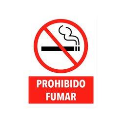 Señalamiento Prohibido Fumar