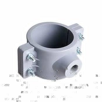 Abrazadera PVC Hidráulica 4 x ½ pulg