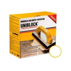 Boquilla sin Arena Uniblock 5 kg Blanco