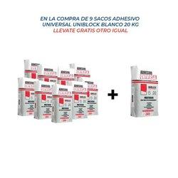 Paq. Promocion Adhesivo Universal 9+1