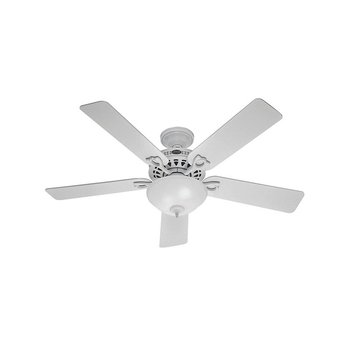 Ventilador de Cielo Hunter Astoria Blanco 52 pulg