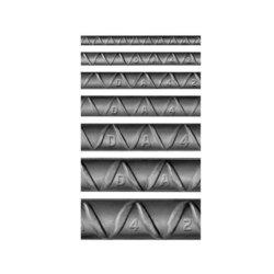 Varilla Recta núm 4 ½ pulg x 12 ml AR-42