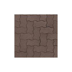 Adoquín Titán Mextile 22.5 x 11.25 x 6 cm Tabaco