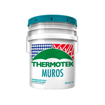 Impermeabilizante Thermotek Muros Blanco 19 Lt
