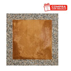 Piso Rialto Daltile 60.5 x 60.5 cm Terracota GRL1