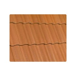 Teja Concreto Catalana 44 x 33 cm Terracota