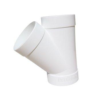 Yee PVC Sanitario 3 x 3 75 x 75 mm