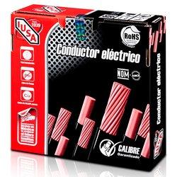 Cable Eléctrico THW Iusa num 6 Color Rojo 100 m