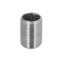 Niple Galvanizado 06 mm ¼ Rosca Corrida