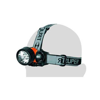 Linterna Truper para Cabeza 7 Leds