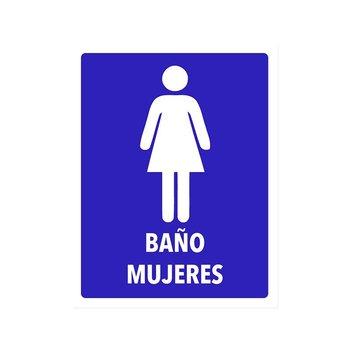 Señalamiento Baño Mujeres