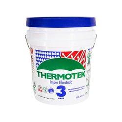 Impermeabilizante Acril Fibratado Rojo Thermotek 19 Lt