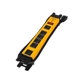 Multicontacto Barra Volteck 6 Con. Supresor Picos 1200Joules